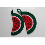 Regalo Día De La Madre Toma Ollas A Crochet
