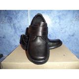 Zapatos Colegiales Para Niños Numero 27 Y 28 Color Negro