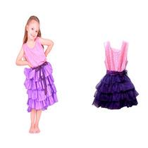 Disfraz De Violetta Lila En Oferta!solo Talle 1!- Minijuegos