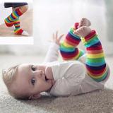 Meia Calça Infantil Listrada Colorida