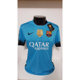 Camisa Barcelona 2015 2016 Champions - Camisas de Times de Futebol ... b7f492f9048