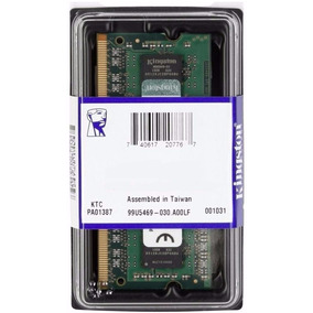 Memória Notebook 4gb Ddr3 1333 Mhz - Kingston - Box - Novo