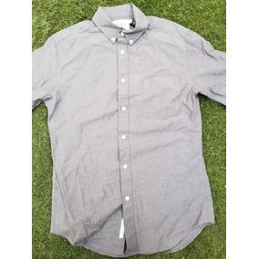 Camisa Casual De Algodon Slimfit Caballero Hombre