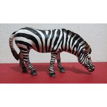 Zebra Cebra Salvaje Figura 6 Cm Alto