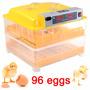 Incubadora 96 Huevos Con Volteador Automatica Led Incubar Nb