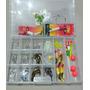 Caja De Anzuelos-señuelos Y Mas Super Completa 155 Articulos
