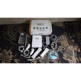 Wii Na Caixa Destravado Completo Com 1 Jogo Paralelo Dk Ok