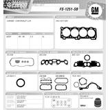Kit Juego Empacadura Isuzu Chevrolet Luv Caribe 2.3l 4zd1