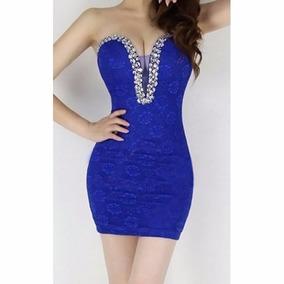 Precioso Vestido Corto Strapless Para Dama Talla Ex-ch