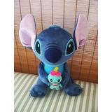 Peluche Stitch Disney Original 25 Cm Detallado