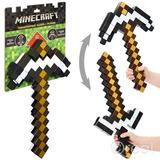 Minecraft 2 Em 1 Espada / Picareta Mattel Cgx34 54cm