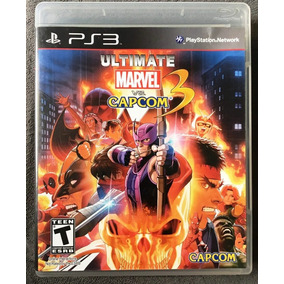 Ultimate Marvel Vs Capcom 3 Ps3 Jogo Original Mídia Física