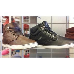 Zapatillas Botitas I Run De Cuero Nuevos Unicos Modelos