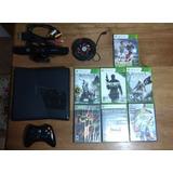 Xbox 360 Slim + Kinect + Dd 60gb + Juegos + Ventilador