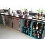 Balcão Refrigerado Horizontal - Residencial Espaço Gourmet