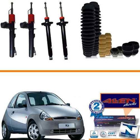 Kit 04 Amortecedores Ford Ka 2002 2003 2004 2005 2006 + Kit