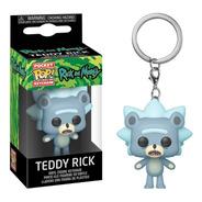 Funko Pocket Pop! Llavero: Rick And Morty - Teddy Rick