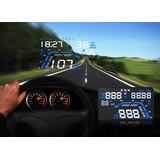 Pantalla Hud Virtual Para Panoramico Gps +exceso Velocidad