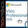 Visio Professional 2016 Licencia Retail 32/64 Bit 1pc
