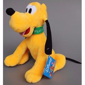 Bonecos De Pelucia, 1 Pluto 1 Pateta 1 Pato Donald + Brinde