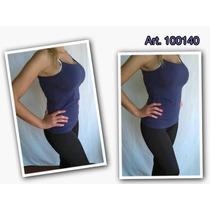 Musculosa Basica Bretel * Mk Select* Marcela Koury * Azul S