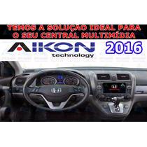 Navegador Gps Aikon 2016 Central Multimídia Micro Sd - Sjuro