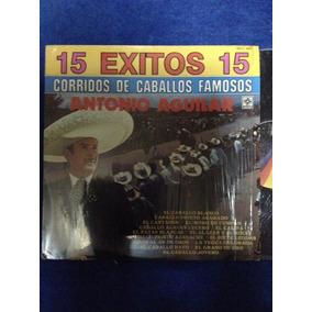 Lp Antonio Aguilar Corridos De Caballos Famosos
