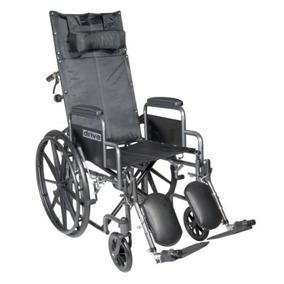 Drive Medical Silver Sport Reclinable Silla De Ruedas Con L