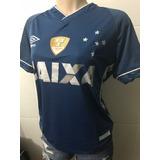 Terceira Camisa Cruzeiro 2018 Feminina Copa Brasil Baby Look