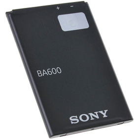 Pila Bateria Sony Ericsson Ba600 Xperia U St25 Xperia P Lt22