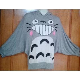 Blusa / Mi Vecino Totoro / Manga Vampiro Con Gorro