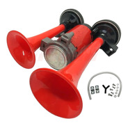 Bocina De Aire 2 Cornetas Tipo Rutera Potente Sonido Tuning