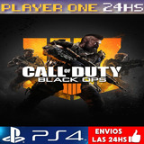 Cod Black Ops 4 Ps4 Digital Oficial Juga 1° | 50% Off
