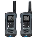 Motorola T200br Radio De Comunicação Talkabout Preto