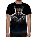 Camiseta Filme Pantera Negra Mod 02 - Frente
