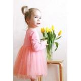 Vestido Criança Saia De Tule Estilo Bailarina Pronta Entrega