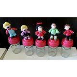 Personajes Mafalda En Porcelana Fría Frasco!!