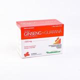 Doble Ginseng + Guarana Con Magnesio X 60 Cápsulas