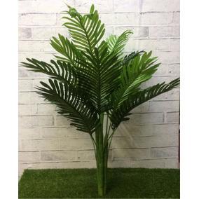 Árvore Chão Artificial Palmeira Coqueiro Sem Vaso 90cm