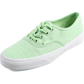 *oferta* Tenis Vans Authentic Hemp Lino Verde Pastel