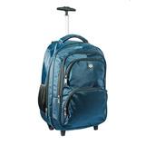 Mochila Para Notebook Com Rodinhas (carrinho) Masculino Azul