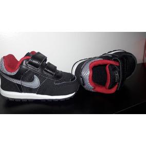 Zapatillas Nike Bebe Originales Y Nuevas Negras 9cm