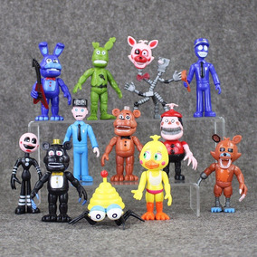Five Nights At Freddy`s X 12 Unid Foxy Mangle Chica 12 Cm