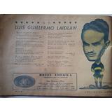 Lamina Luis Guillermo Laidlaw Del Libro De Oro Boca 1944