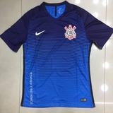 Camisa Corinthians Azul Modelo Jogador Pronto Entra