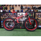 Bicicleta Aro 26 Plegable Fat Bike 21v. Frenos De Disco 2018