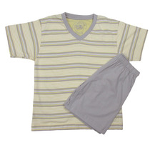 Pijama Pai E Filho Infantil Bermuda Verão Menino