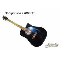 Violão Folk Cutway, Equalizador De 3 Bandas 40 Jahnke