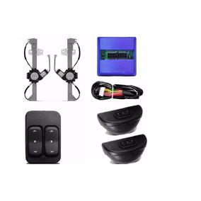 Kit Vidro Eletrico Sandero 2007 A 2014 Traseiro Sensorizado
