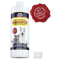 Aceite Puro De Salmón Islandés Para Perros Y Gatos Aceite D